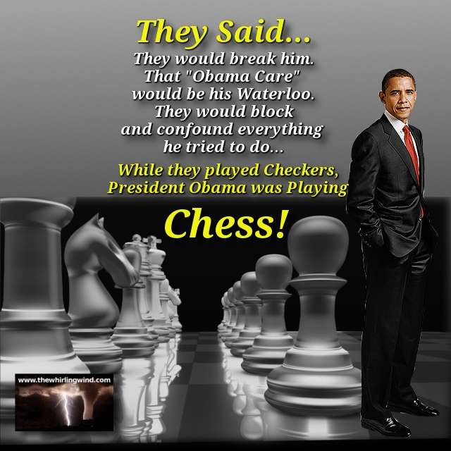 President Obama Plays Chess Meme