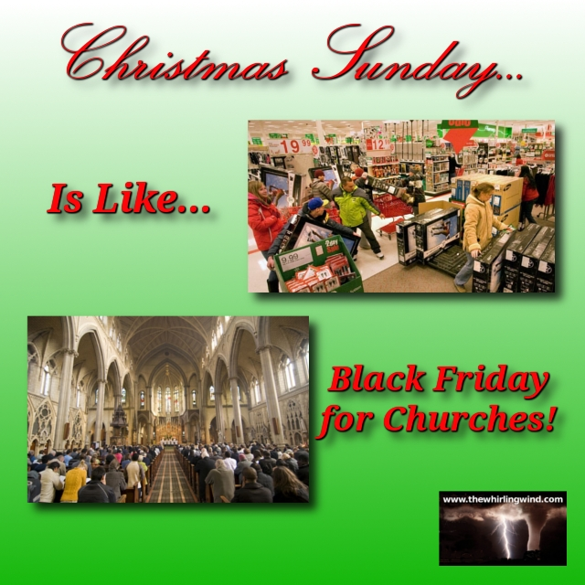 Black Friday For Churches Meme