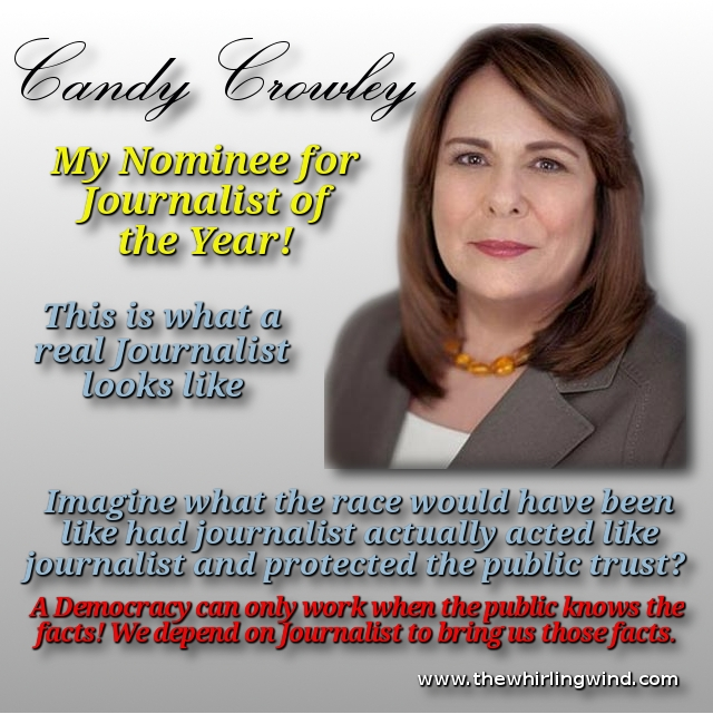 Candy Crowley Journalist of the Year