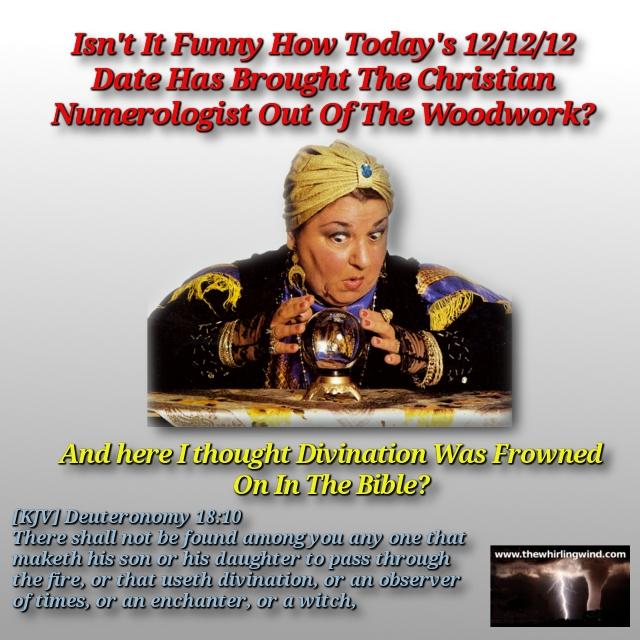 Christian Numerologist Meme