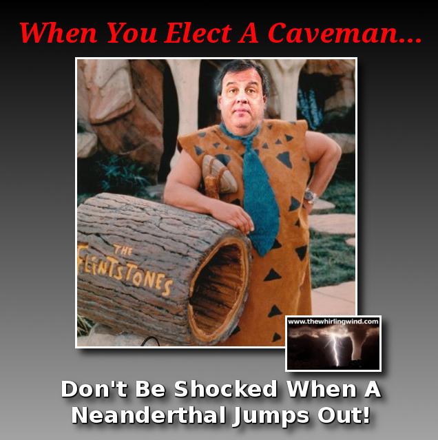 Gallery - Christie Caveman Meme