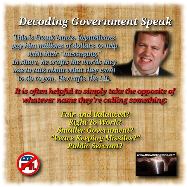 Decoding Government Speak Meme