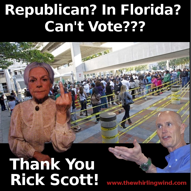 Rick Scott's Florida Voting Mess