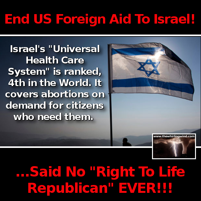 Us foreign aid israel opinion, error