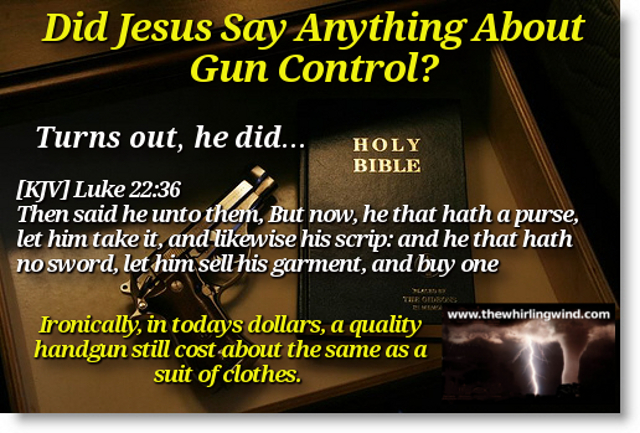 Jesus Gun Control Meme