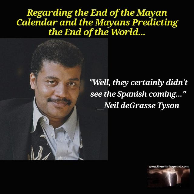 Mayan Prophecy Meme