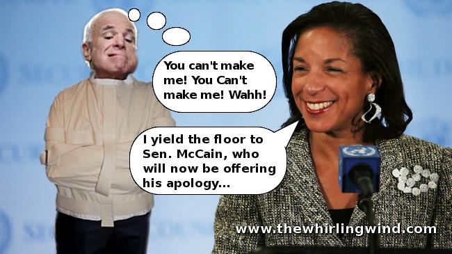 McCain Cry Baby Meme