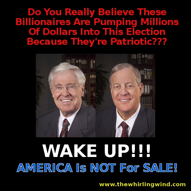 America Is Not For Sale!