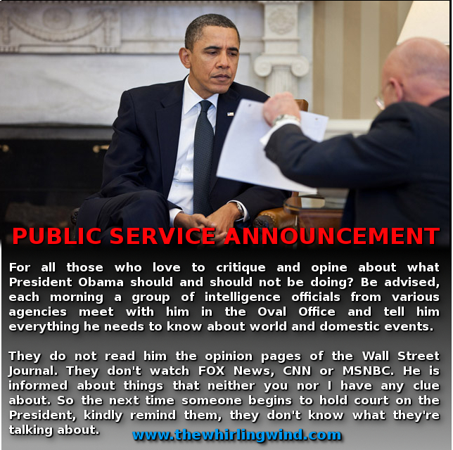 Public Service Announcement Meme