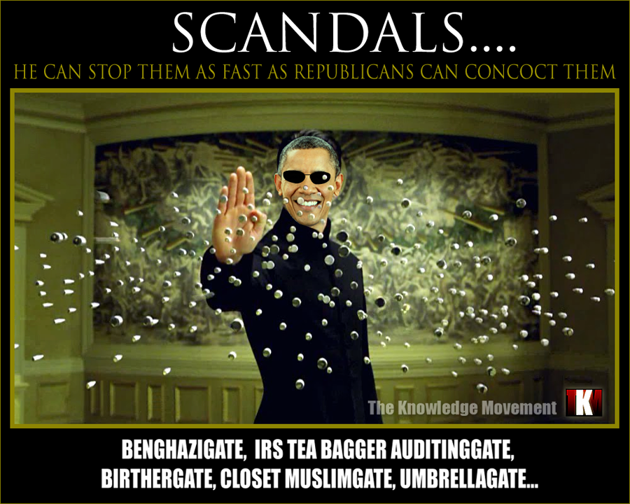 Gallery - Scandals Obama Meme