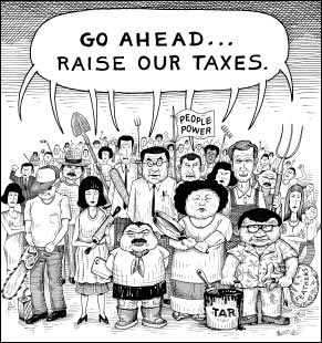 Taxation without Representation - The Whirling WindThe Whirling Wind