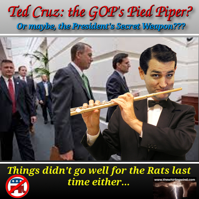 Gallery - Ted Cruz Pied Piper Meme