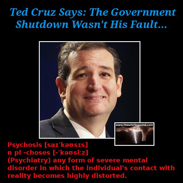 Gallery - Ted Cruz Psychosis Meme