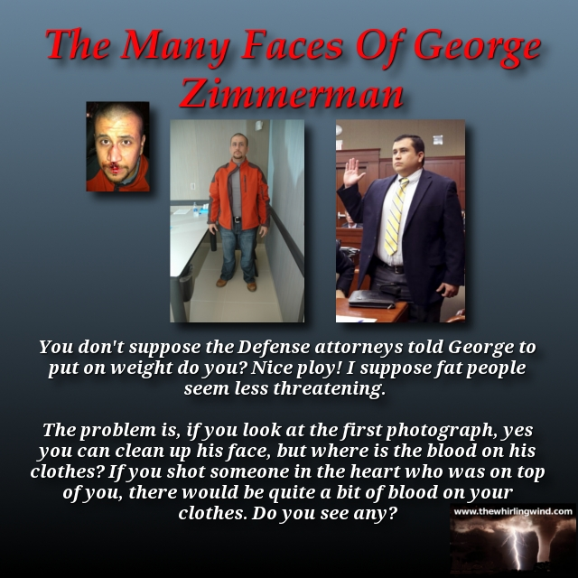 Gallery - The Many Faces Of George Zimmerman Meme