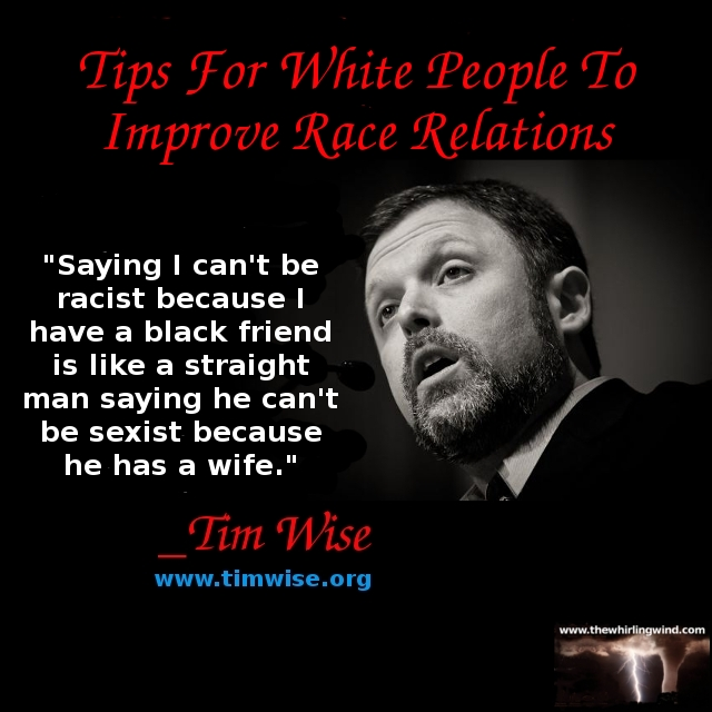 Gallery - Tim Wise Tips For White People 01 Meme