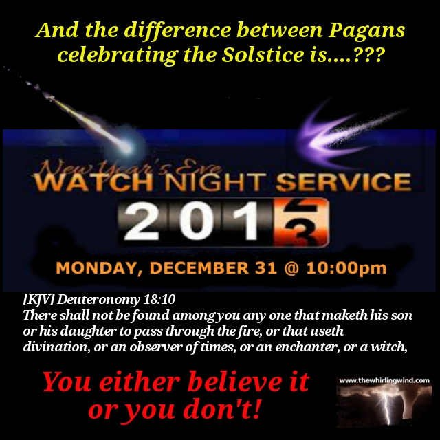 Watch Night Service 2012 Meme