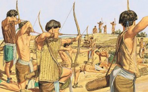 Mythical Battle Between the Lamanites and the Nephites
