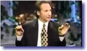 Bill Maher hosting Politically Incorrect