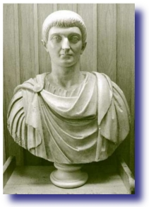 Pimping Jesus - Bust of Constantine the Great. Emperor of Rome.
