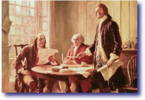 Framers Drafting The Constitution