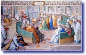 Nicene Council circa 325 AD