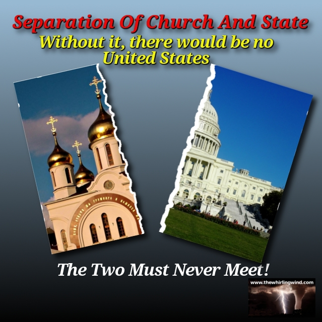 Separation of Church and State Header