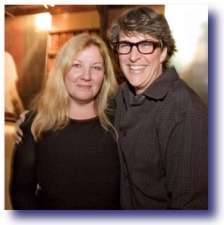 Rachel Maddow's Problem - Rachel and her Mate, Susan Mikula