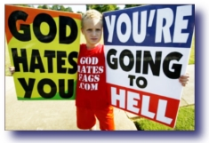 Homosexuality In The Church - Westboro Baptist Church