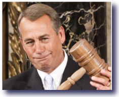 No Laughing Matter - Boehner's New Gavel
