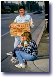 No Laughing Matter - Homeless Family